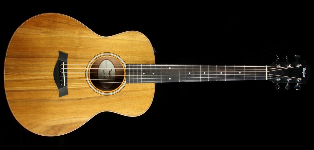 Taylor GS Mini-e Koa Acoustic/Electric Guitar Natural Natural, Brand New, $699.00