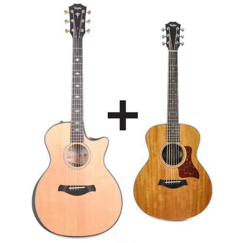 Taylor 614ce Builder's Edition Sitka/Big Leaf Maple Natural ADD Taylor GS Mini for $99 Pre-Order
