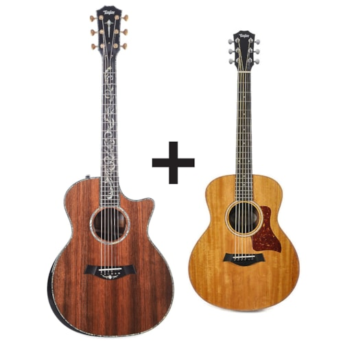 Taylor PS14ce Sinker Redwood/Cocobolo ES2 w/V-Class Bracing ADD Taylor GS Mini for $99 Pre-Order