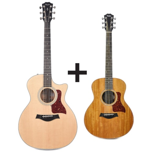 Taylor 414ce Grand Auditorium Sitka Spruce/Ovangkol Natural ADD Taylor GS Mini for $99 Pre-Order