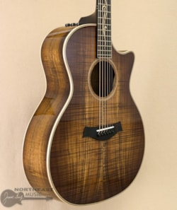 Taylor K24ce AA Flame Koa Acoustic Electric Guitar - Shaded Edge Burst