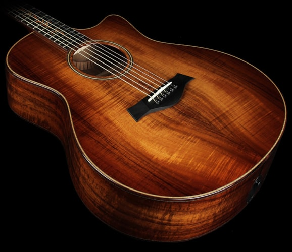 Taylor K26ce AA Koa Top Grand Symphony Acoustic/Electric Guitar Koa, Excellent,