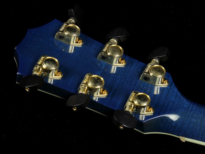 Taylor Used 2000 Taylor Limited Edition Gallery Series Living Jewels Koi Dreadnought Acoustic Guitar Aqua Blue Transparent Aqua Blue Transparent, Excellent, $8,499.00
