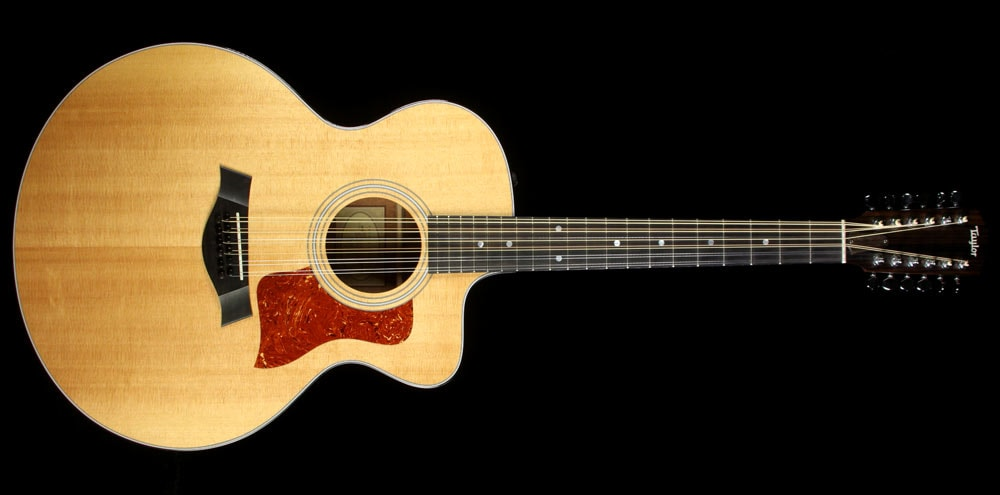 2010 Taylor Used 2010 Taylor 355ce Jumbo 12-String Acoustic Guitar Natural
