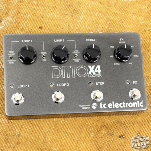 TC Electronic Ditto X4 Brand New