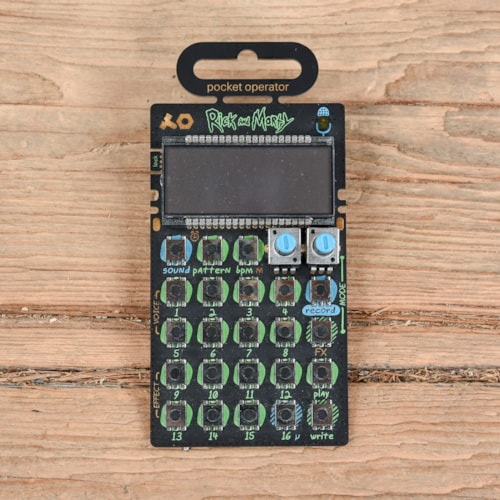 Teenage Engineering Pocket Operator PO-137 Rick & Morty USED