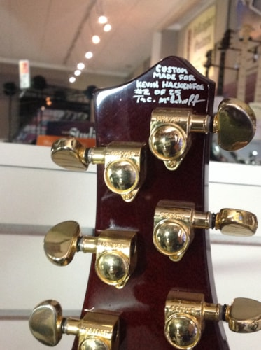 TERRY MCINTURFF Custom Forum Brown, Excellent, Original Hard, $3,250.00