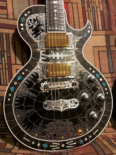 Teye Guitars La Mora Black, Brand New, Original Hard
