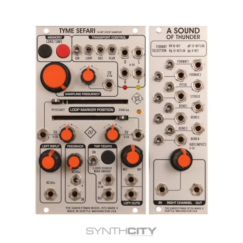 The Harvestman Industrial Music Electronics / Tyme Sefari MKII w/ A Sound of Thunder Expander Excellent, $479.00