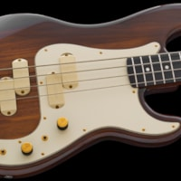 1983 Fender Walnut Elite II Precision Bass