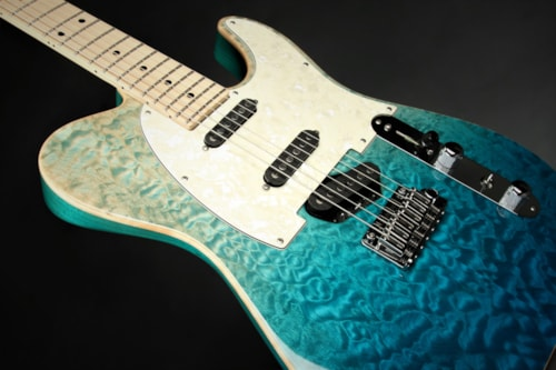 Tom Anderson Shorty Top T Classic - Bora Blue Surf