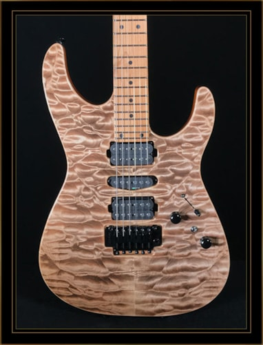 Tom Anderson Angel with Quilt Maple Top Satin Natural Mocha, Brand New, Original Hard