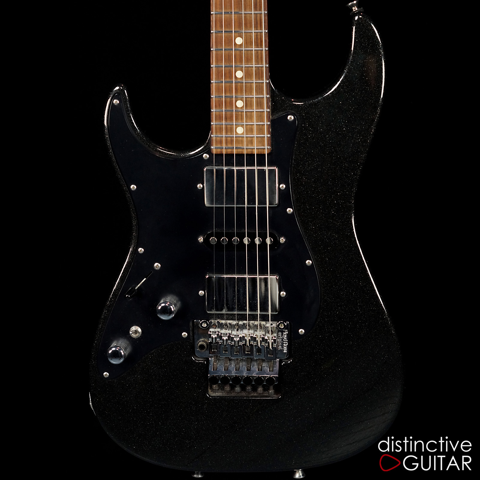 Tom Anderson Classic Lefty Starry Night Black Guitars Electric