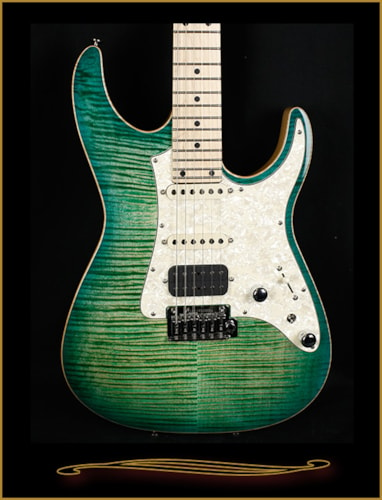 Tom Anderson Guardian Angel Key Lime Burst w/Binding, Brand New, Hard, $3,375.00