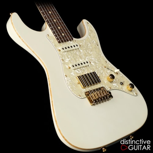 Tom Anderson Guitarworks Drop Top Classic Hollow Arctic White, Brand New, Original Hard, $3,819.00