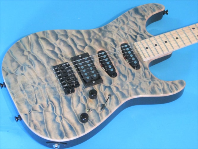 Tom Anderson Guitarworks Drop Top Quilted Natural Arctic Blue, Brand New, Hard, $3,997.00