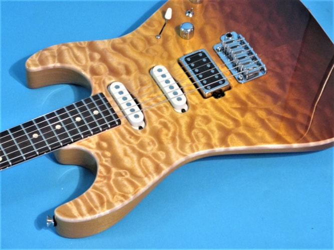 Tom Anderson Guitarworks Drop Top Tobacco Surf, Brand New, Hard, $3,896.00