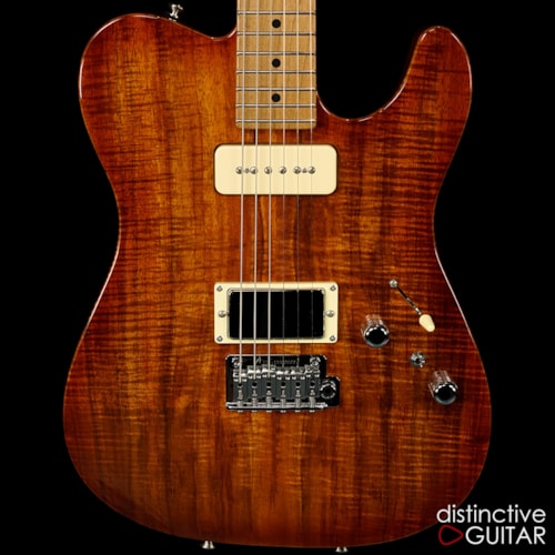 Tom Anderson Guitarworks Top T Private Reserve Koa  Honey Shaded Edge, Brand New, Original Hard
