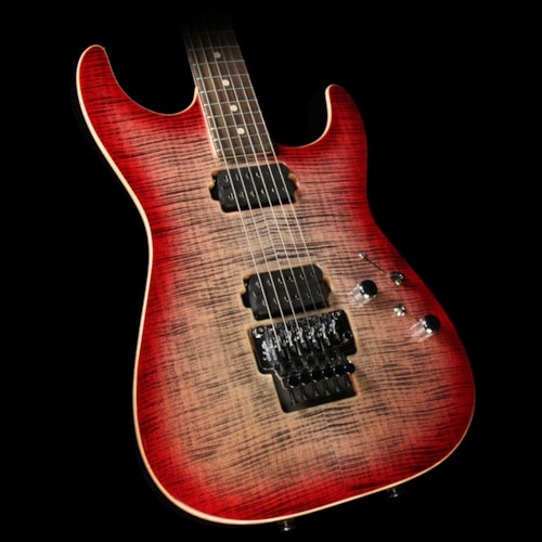 Tom Anderson Guitarworks Drop Top Electric Guitar Natural Black to T-Red Burst Natural Black to T-Red Burst, Brand New, $3,737.58