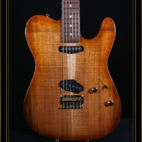 Tom Anderson Hollow Top T with Private Reserve Koa Top