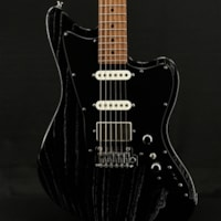 Tom Anderson Raven Classic in Black with White Doghair
