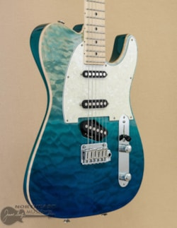 Tom Anderson Top T Classic - Bora Blue Surf w/ Binding