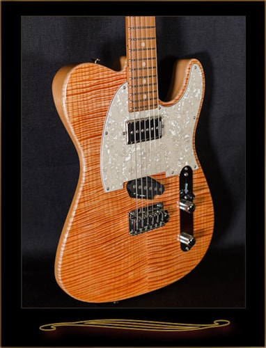 Tom Anderson Top T Classic Natural Coral w/Binding, Brand New, Original Hard, $3,499.00
