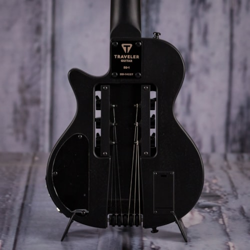 Traveler Guitar EG-1 Blackout V2 Electric, Matte Black