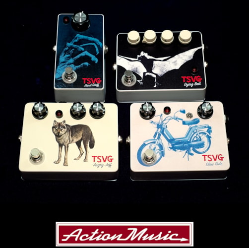 TSVG Effects Pedals Brand New