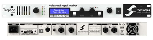 Two Notes Torpedo Live Professional Loadbox with Digital Miking Brand New