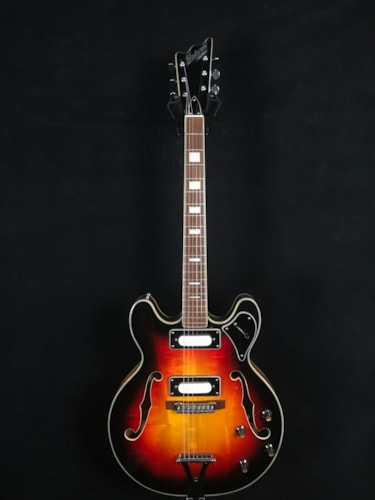 Univox Custom Hollowbody Sunburst