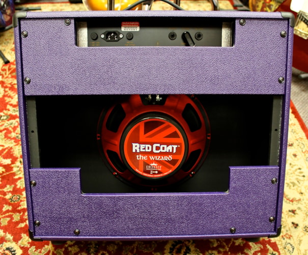 "ValveTrain Amplifiers Saratoga 1x12"" Combo British Plum , Brand New"