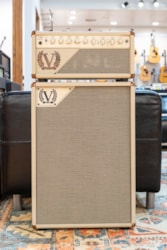 Victory Amps Victory Heritage Series V40 Head with V212-VCD Open Back Cabinet - Cream Bronco / Salt and Pepper Grille