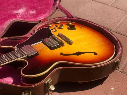 Vintage 1960 Gibson ES-345  Gorgeous Top and Tone.  With Original Case