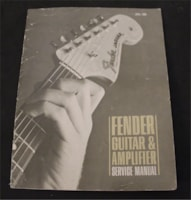1968 Fender Vintage Guitar & Amplifier Service Manual