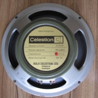 1973 VINTAGE CELESTION G12M 25W 8 OHM 55 HZ GREENBACK SPEAKER