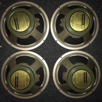 1972 VINTAGE CELESTION MARSHALL G12M25 T1221 PULSONIC 003 CONES