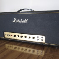 1967 VINTAGE MARSHALL BLACK FLAG 100W SUPER BASS AMP