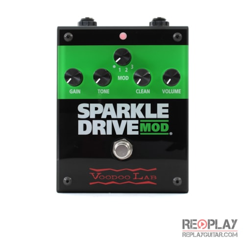 Voodoo Lab Sparkle Drive MOD Overdrive Pedal Brand New, $129.00