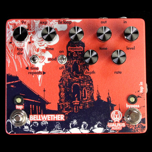 Walrus Audio Bellwether Analog Delay with Tap Tempo Effects Pedal Brand New, $255.00