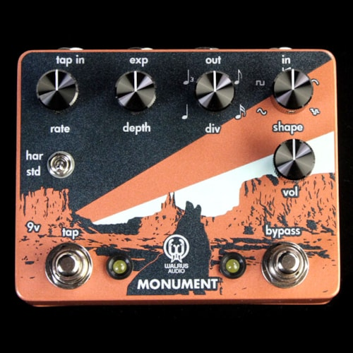 Walrus Audio Monument Harmonic Tap Tremolo Effects Pedal Brand New, $219.00