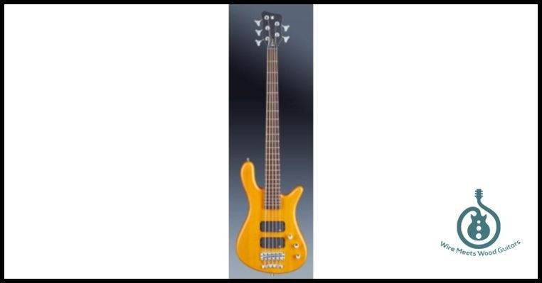 Warwick RockBass Streamer Standard 5 High Vis Yellow, Brand New, $749.00