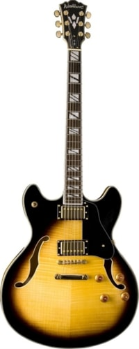 Washburn HB35TSK Tobacco Sunburst Semi-Hollow w/ Case, Free Shipping
