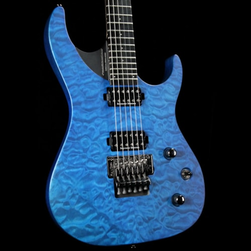 Washburn Parallaxe PXM10 Quilted Trans Blue Excellent