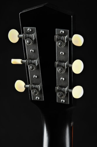 Waterloo by Collings WL-14X Aged - Truss Rod/Jet Black