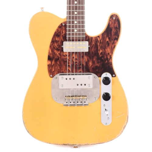 Waterslide Coodercaster T-Style Aged Butterscotch Blonde w/Mojo Lap Steel & Gold Foil Pickups (Serial #2262020)