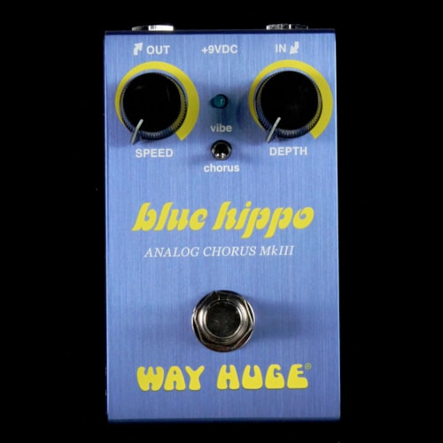 Way Huge Smalls Blue Hippo Analog Chorus Pedal Brand New $149.99