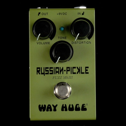 Way Huge Smalls Russian Pickle Fuzz Pedal Brand New $149.99