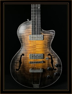 Wide Sky Guitars P125 Cutaway with P90s