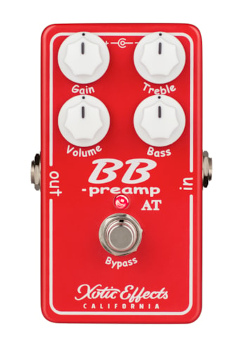 Xotic Effects BB-Preamp Andy Timmons Limited Edition Red, Brand New